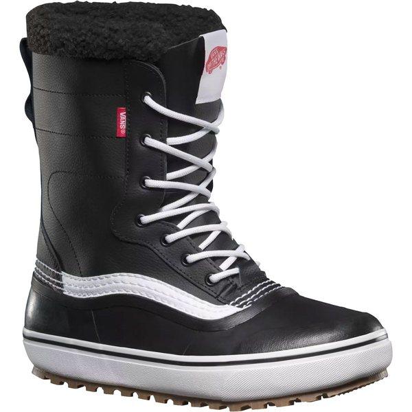 バンズ メンズ ブーツ&レインブーツ シューズ Standard Snow Boot Black/White