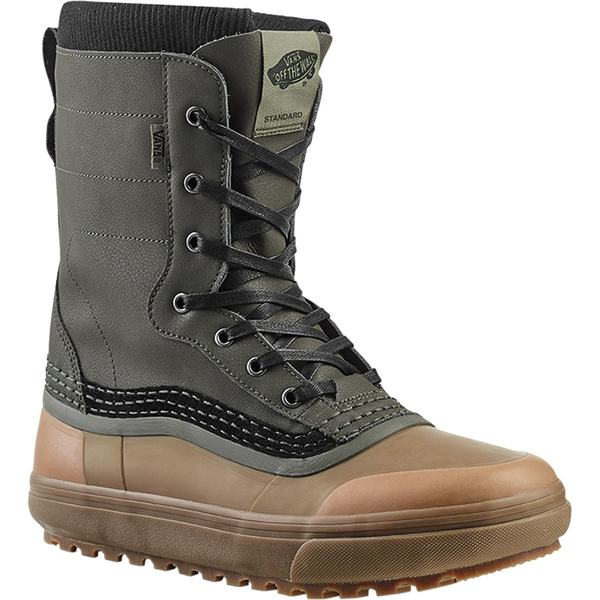 バンズ メンズ ブーツ&レインブーツ シューズ Standard Snow Boot Green/Brown