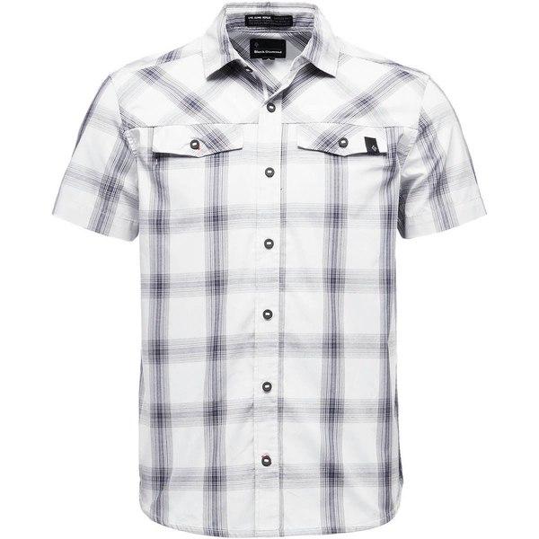 ブラックダイヤモンド メンズ シャツ トップス Benchmark Short-Sleeve Shirt - Men's Alloy/Captain/Anthracite Plaid