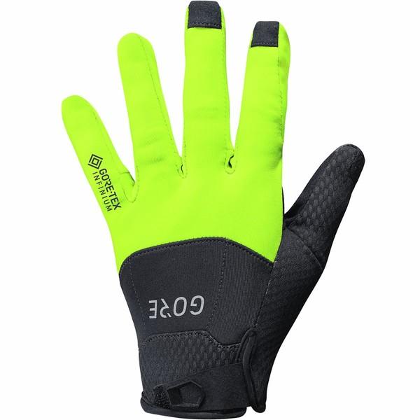 ゴアウェア レディース サイクリング スポーツ C5 Gore-Tex Infinium Gloves Black/Neon Yellow