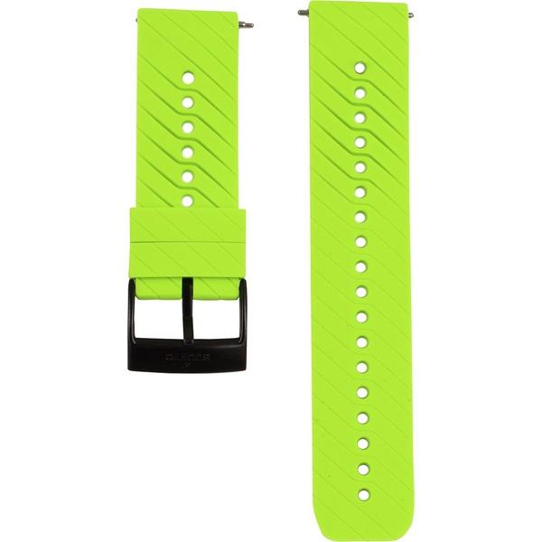 スント メンズ 腕時計 アクセサリー Suunto 9 Accessory Strap Lime