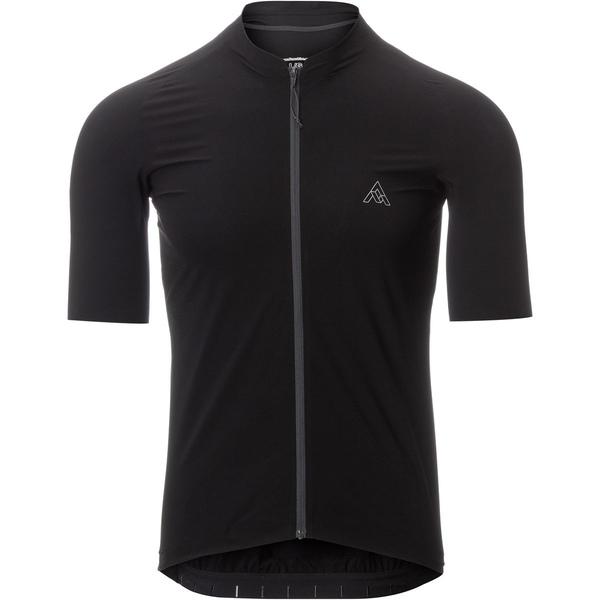 セブンメッシュインダストリー メンズ サイクリング スポーツ Highline Ultralight Short-Sleeve Jersey - Men's Black