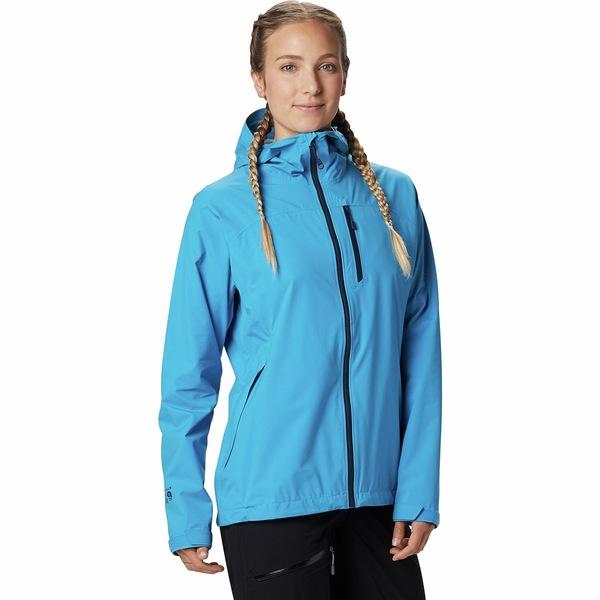 マウンテンハードウェア レディース ジャケット&ブルゾン アウター Stretch Ozonic Jacket - Women's Electric Sky