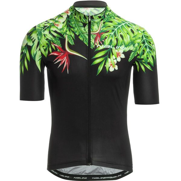 ナリーニ メンズ サイクリング スポーツ AIS Centenario 2.0 Short-Sleeve Road Bike Jersey - Men's Green