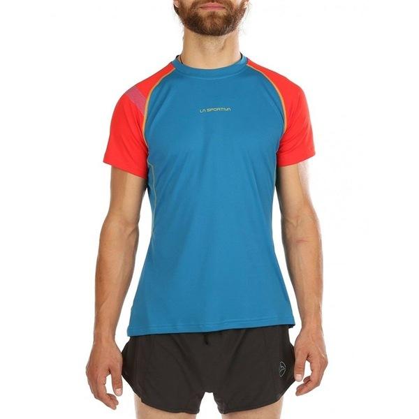 ラスポルティバ メンズ シャツ トップス Motion Short-Sleeve T-Shirt - Men's Neptune/Poppy