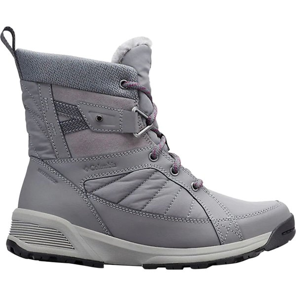 コロンビア レディース ブーツ&レインブーツ シューズ Meadows Shorty Omni-Heat 3D Winter Boot - Women's Ti Grey Steel/Wild Iris