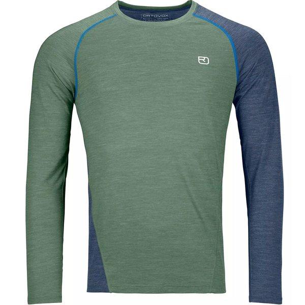 オルトボックス メンズ シャツ トップス 120 Cool Tec Fast Upward Long-Sleeve Shirt - Men's Green Forest Blend