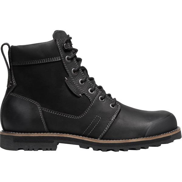 キーン メンズ ブーツ&レインブーツ シューズ The Rocker II Waterproof Boot - Men's Black