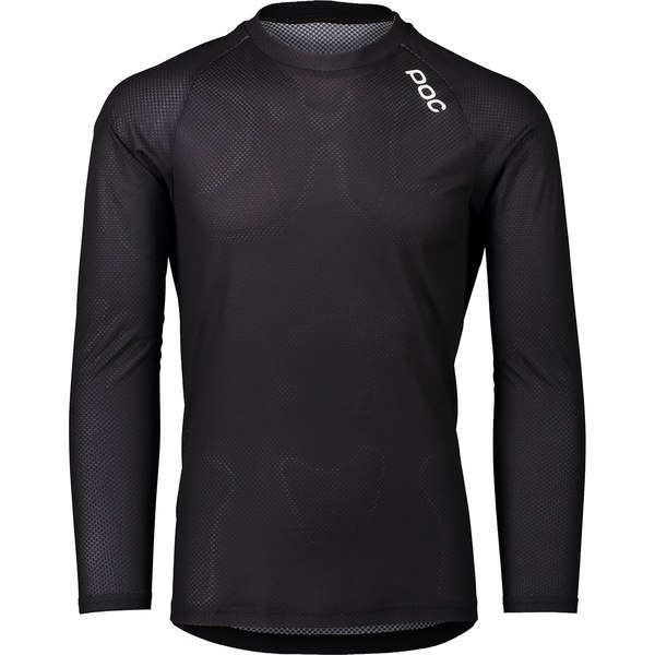 ピーオーシー メンズ サイクリング スポーツ MTB Pure Long-Sleeve Jersey - Men's Uranium Black