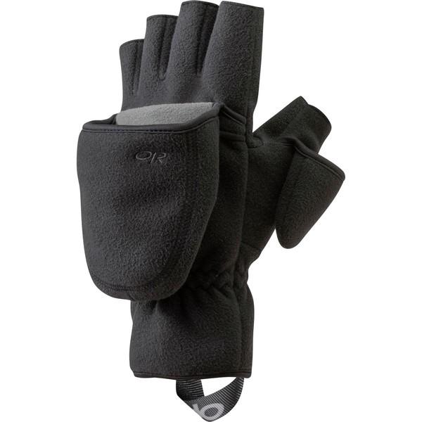 アウトドアリサーチ メンズ 手袋 アクセサリー Gripper Convertible Glove - Men's Black