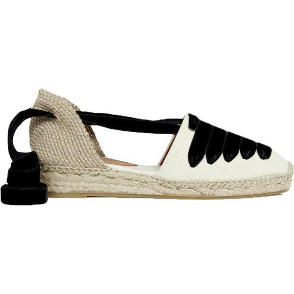 ペネロペシルバーズ レディース スニーカー シューズ Low Valenciana Dali Shoe - Women's Ecru/Black