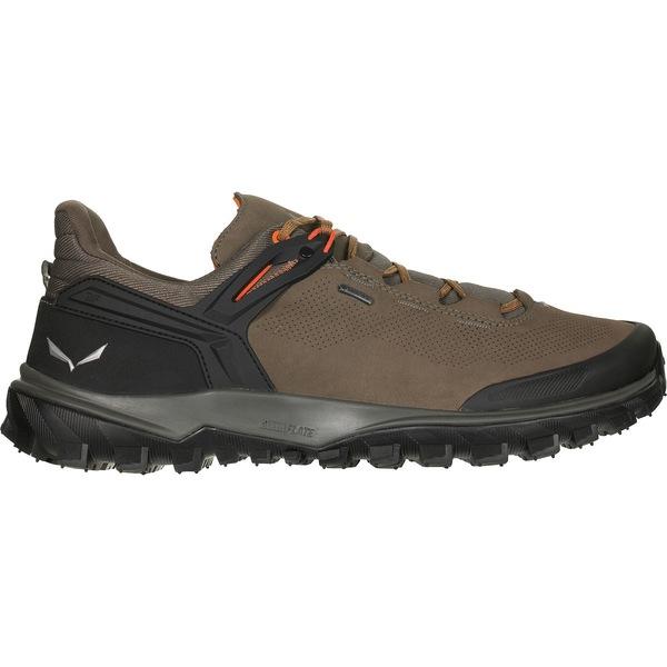 サレワ メンズ スニーカー シューズ Wander Hiker GTX Shoe - Men's Walnut/New Cumin