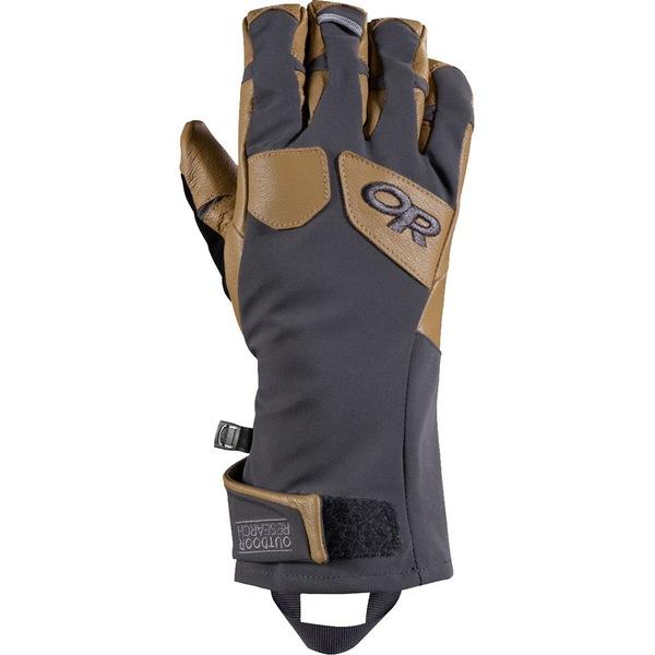 アウトドアリサーチ メンズ 手袋 アクセサリー ExtraVert Glove - Men's Charcoal/Natural
