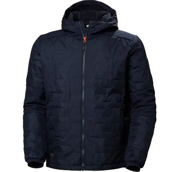 ヘリーハンセン メンズ ジャケット&ブルゾン アウター Kensington Hooded Lifaloft Jacket - Men's Navy