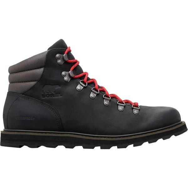 ソレル メンズ ブーツ&レインブーツ シューズ Madson Hiker Waterproof Boot - Men's Black