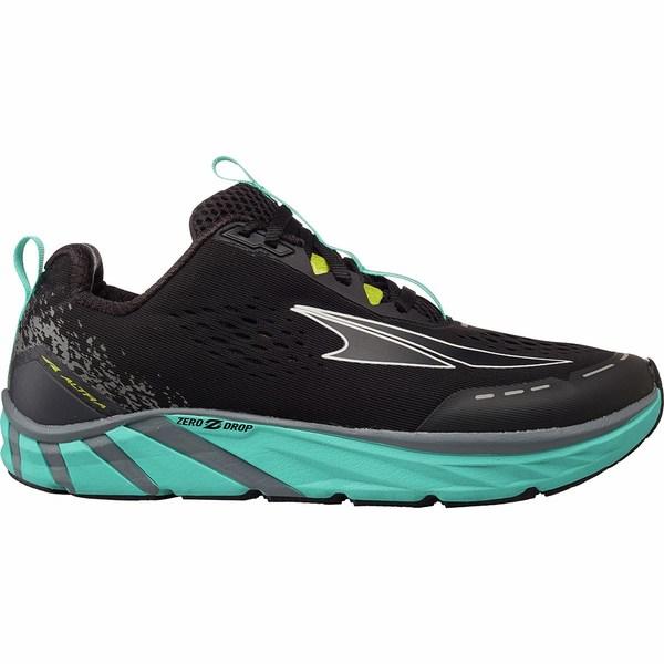 オルトラ レディース スニーカー シューズ Torin 4 Running Shoe - Women's Black/Teal