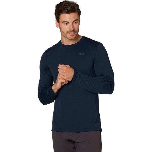 ヘリーハンセン メンズ シャツ トップス HH Lifa Active Solen Long-Sleeve Shirt - Men's Navy