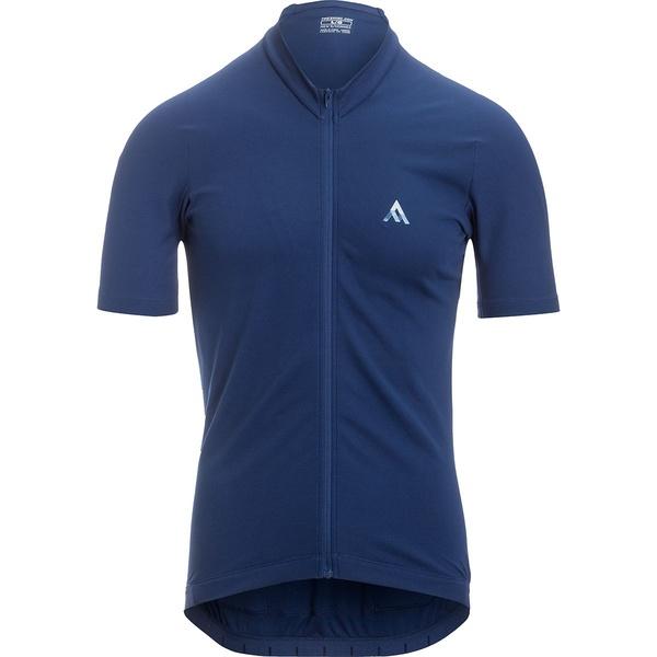 セブンメッシュインダストリー メンズ サイクリング スポーツ Quantum Jersey - Men's Cadet Blue