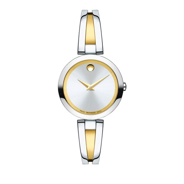 モバド レディース 腕時計 アクセサリー Aleena Two-Tone Stainless Steel Bangle Bracelet Watch Two Tone