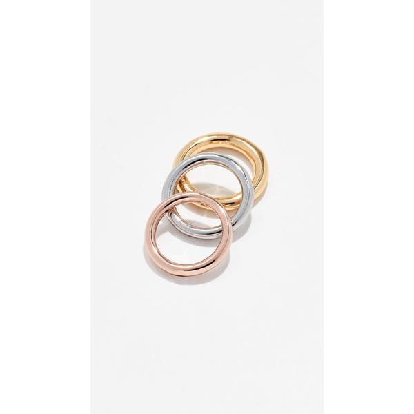 シャシ レディース リング アクセサリー Mariko Ring Set Gold/Silver/Rose Gold