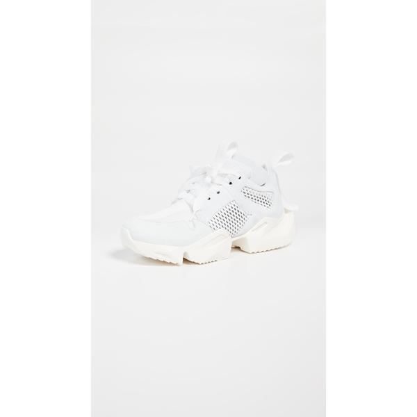 アンラベル プロジェクト レディース スニーカー シューズ Low Sneakers Light Grey/White