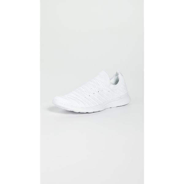 エーピーエル レディース スニーカー シューズ Techloom Wave Sneakers White/White