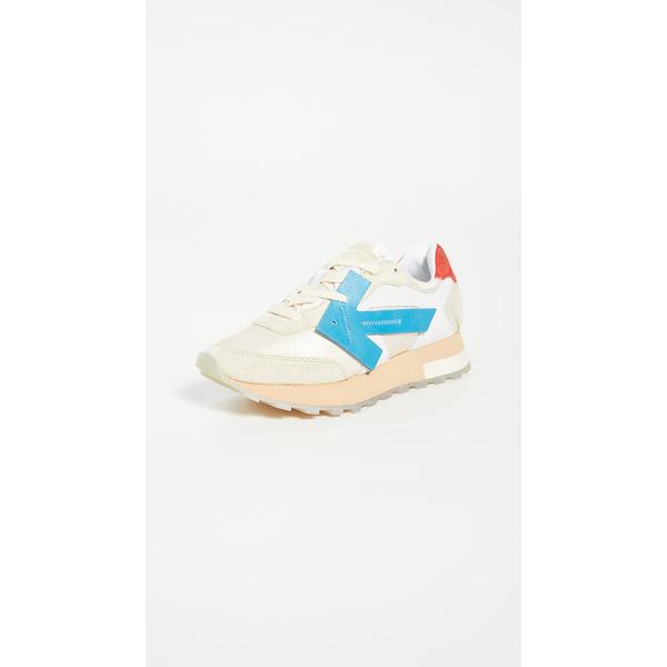 オフホワイト レディース スニーカー シューズ HG Runner Sneakers White/Blue