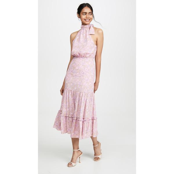 ライクリー レディース ワンピース トップス Mona Dress Pink Multi
