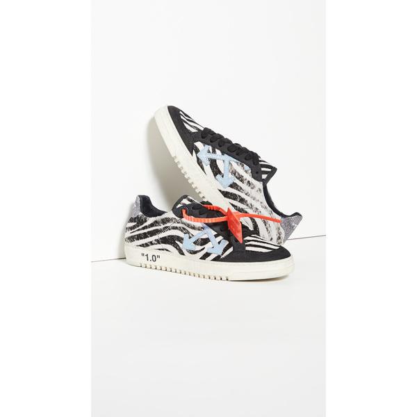 オフホワイト レディース スニーカー シューズ Black Arrow 2.0 Sneakers Black/Blue