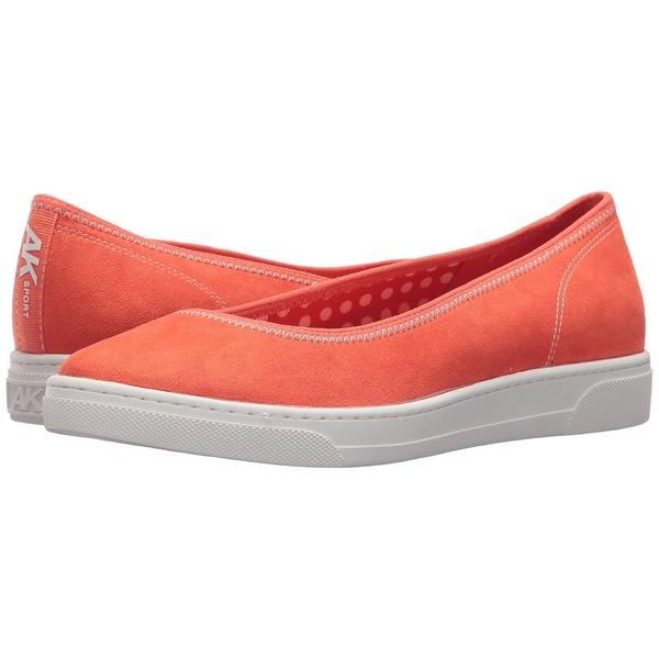 アンクライン レディース サンダル シューズ Overthetop Orange/Orange/White Fabric