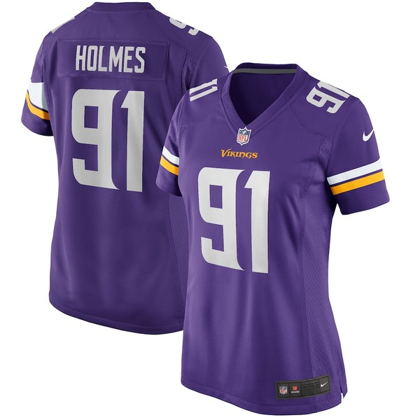 ナイキ レディース シャツ トップス Jalyn Holmes Minnesota Vikings Nike Women's Player Game Jersey Purple