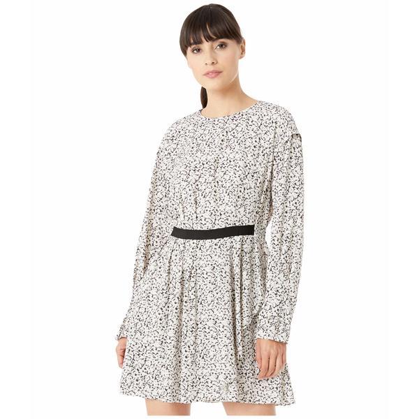 ジェイソンウー レディース ワンピース トップス Inverse Floral Long Sleeve Dress Pearl Multi