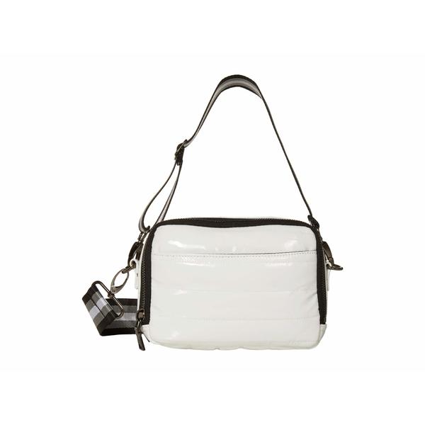 シンクロリン レディース ハンドバッグ バッグ Double Zip Bag White Patent