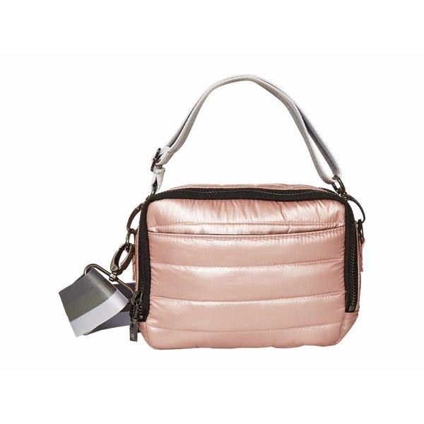 シンクロリン レディース ハンドバッグ バッグ Double Zip Bag Pearl Blush