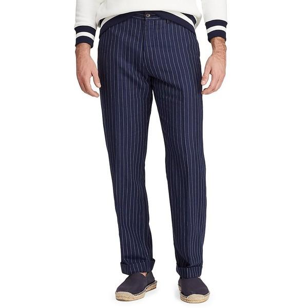 ラルフローレン メンズ カジュアルパンツ ボトムス Pinstripe Newport Chino Pants Navy