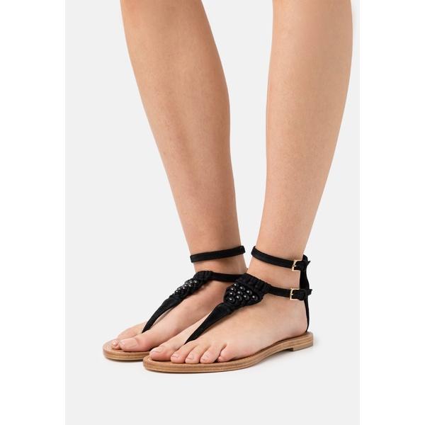 アルベルタ フェレッティ レディース サンダル シューズ T-bar sandals - black