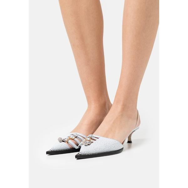 【2021年製 新品】 ヌメロ ヴェントゥーノ SLINGBACK レディース ヒール シューズ SLINGBACK - Classic ヌメロ heels ヴェントゥーノ - white, 猿島町:ee238063 --- themezbazar.com