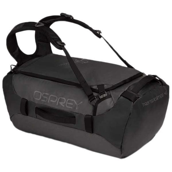 <title>オスプレー メンズ バッグ ボストンバッグ Black 全商品無料サイズ交換 Osprey 店 Transporter 40L hnql012d</title>
