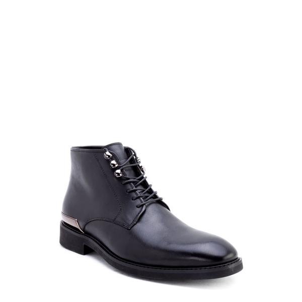 ザンザラ メンズ ブーツ&レインブーツ シューズ Soland Boot Black Leather