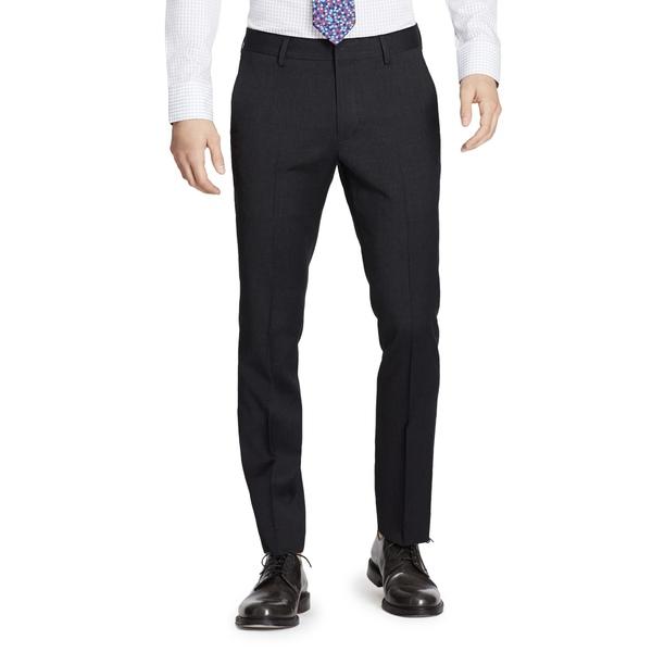 ボノボス メンズ カジュアルパンツ ボトムス Jetsetter Slim Fit Flat Front Stretch Wool Dress Pants Charcoal