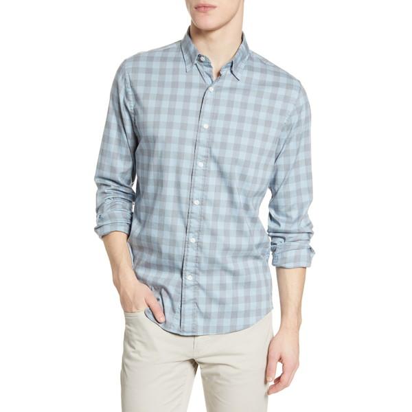 ファエティ メンズ シャツ トップス Movement Check Button-Up Shirt Cota Check