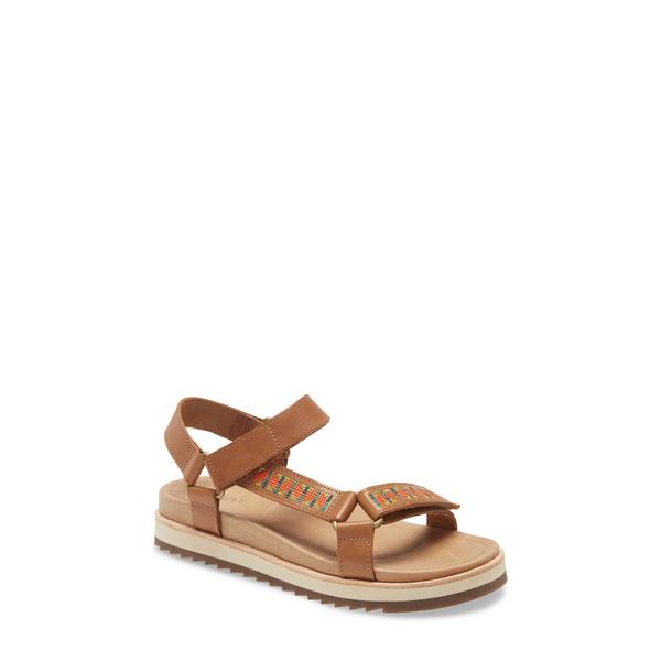 メレル レディース サンダル シューズ Juno Strap Sandal Tobacco Leather