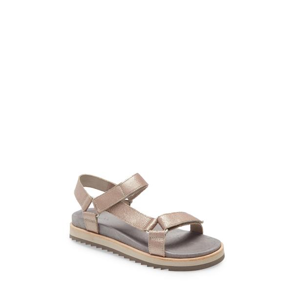メレル レディース サンダル シューズ Juno Strap Sandal Metallic Leather