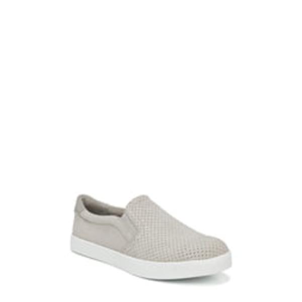 ドクター・ショール レディース スニーカー シューズ Madison Slip-On Sneaker Grey Perforated Fabric