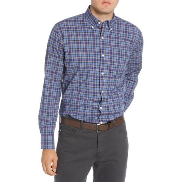 ピーター・ミラー メンズ シャツ トップス Half Moon Bay Regular Fit Tartan Plaid Button-Down Shirt Bonnet