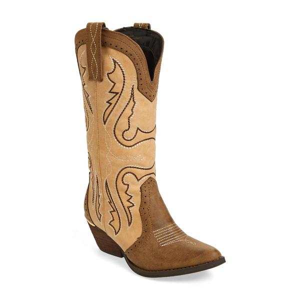ヴェリーヴォラタイル レディース ブーツ&レインブーツ シューズ Buckboard Western Boot Brown/ Multi Faux Leather