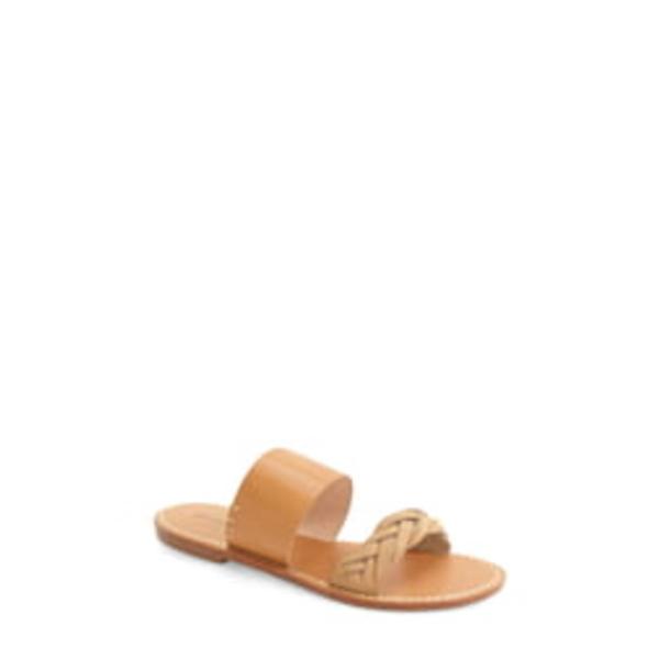 ソルドス レディース サンダル シューズ Slide Sandal Acorn/ Brown Leather