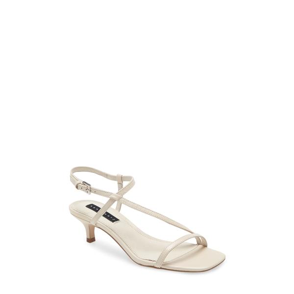 サンクチュアリー レディース サンダル シューズ Wave Kitten Heel Sandal Bone Leather