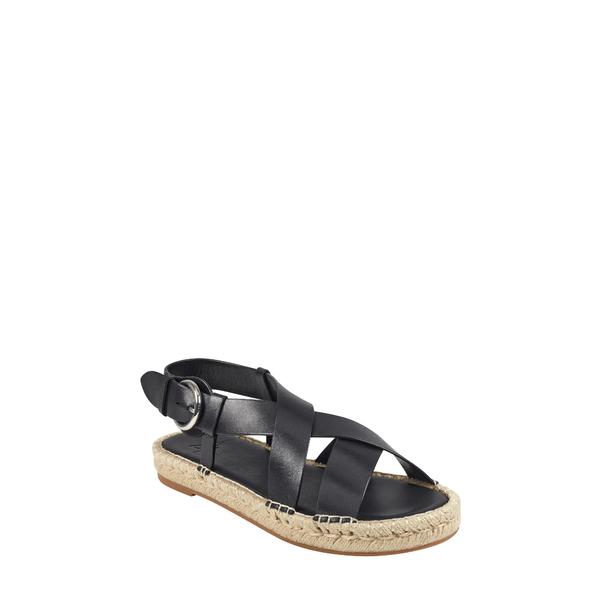 マーク・フィッシャー レディース サンダル シューズ Tallia Espadrille Sandal Black Leather