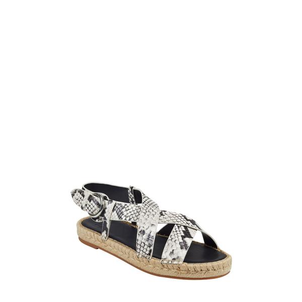 マーク・フィッシャー レディース サンダル シューズ Tallia Espadrille Sandal Grey Snake Print Leather